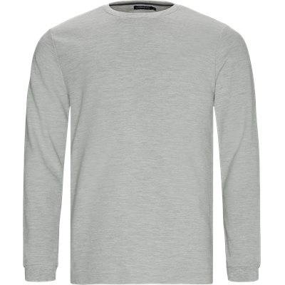 Perth LS Tee Regular | Perth LS Tee | Grå
